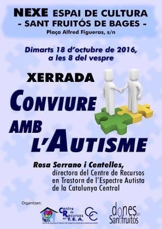 Xerrada Conviure amb l'Autisme @ Nexe - Espai de Cultura