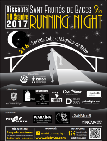 SFB Running Night @ Cobert de la Màquina de Batre