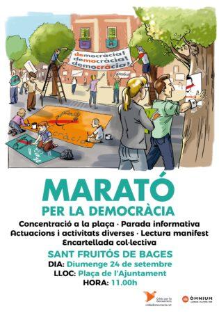 Marató per la Democràcia @ Plaça de l'Ajuntament