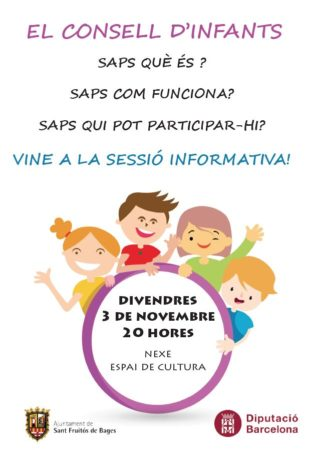 Reunió informativa Consell d'Infants @ Nexe - Espai de Cultura