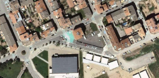 Zona esportiva de Sant Fruitós.