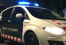 Cotxe de Mossos d'Esquadra FOTO.Bétévé
