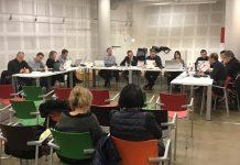 El ple ordinari del mes de gener es va celebrar a la Sala Polivalent de la biblioteca municipal
