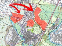 La imatge mostra els espais del POUM que es volen posar a consulta