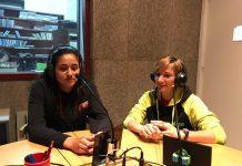 Gina Pintó i Sílvia Pozo, jugadores del Vòlei Sant Fruitós A al programa 'Esport i Punt'