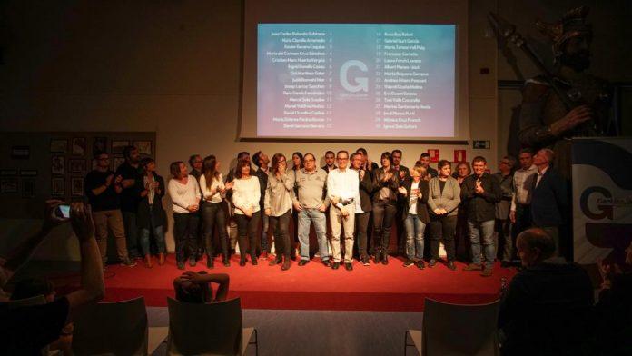 Presentació de llista de l'agrupació d'electors Gent fent Poble. Fotografia: GfP