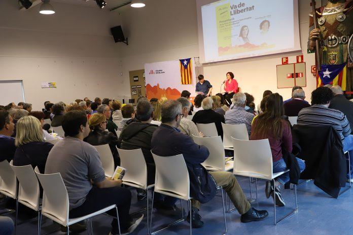 Acte 'Va de llibertat' i presentació de la llista d'Esquerra Sant Fruitós. Fotografia: ERC Sant Fruitós