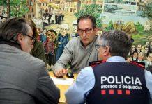 Imatge d'arxiu de la junta extraordinària de seguretat celebrada aquest passat diluns a Sant Fruitós de Bages / Fotografia: ACN