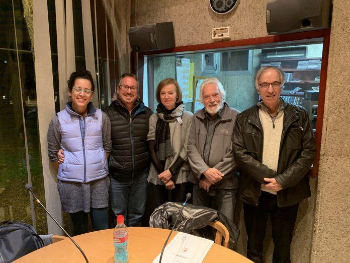 La comissió de l'any Lluís Espinal a Ràdio Sant Fruitós.
