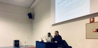 Joan Carles Batanés i Xavier Racero a la presentació dels pressupostos i les ordenances de Sant Fruitós de Bages pel 2020.
