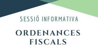 Cartell de la xerrada sobre els pressupostos i les ordenances fiscals.