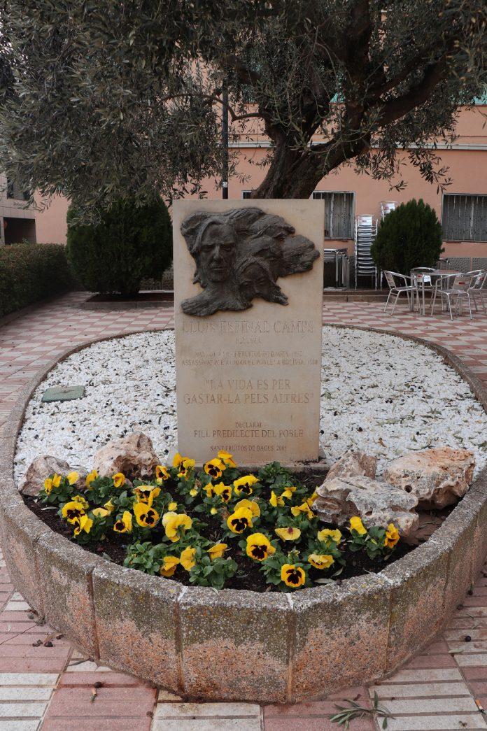 Plaça Lluís Espinal. - FOTO: Ajuntament de Sant Fruitós