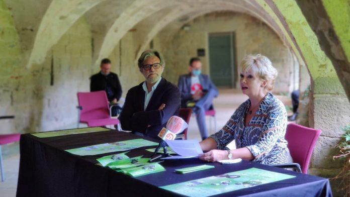 Mireia Pintó durant la presentació de la XXVI edició del Festival Internacional de Música Clàssica.