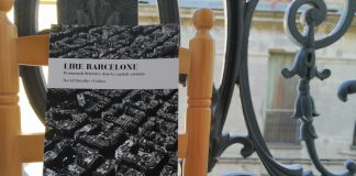 "Portada del llibre ""Lire Barcelone"", del periodista i escriptor David Clusellas."