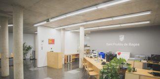 Oficines de l'Ajuntament. - Foto: Aj. de SFB
