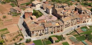 Vista àerea dels horts i regadius de La Sagrera.