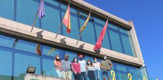El nou equip de govern després del Ple Municipal Extaordinari del 20 d'agost. - Foto: Marina Rojo