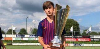 El santfruitosenc Jan Oliveras deixa el Barça per fitxar per la Roma