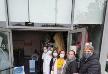 Tret de sortida de la campanya de vacunació de la grip. - FOTO: Aj Sant Fruitós
