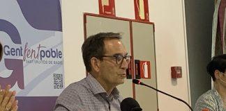 El líder de Gent fent Poble, Joan Carles Batanés.