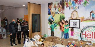 Recollida d'aliments del Paidos. - FOTO: Aj Sant Fruitós