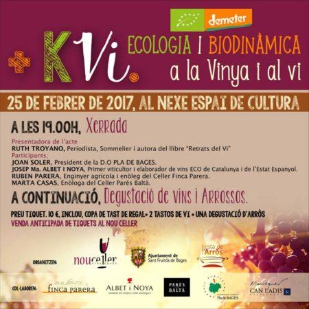 +Kvi: Ecologia i Biodinamica a la Vinya i al Vi. @ Nexe-Espai de Cultura