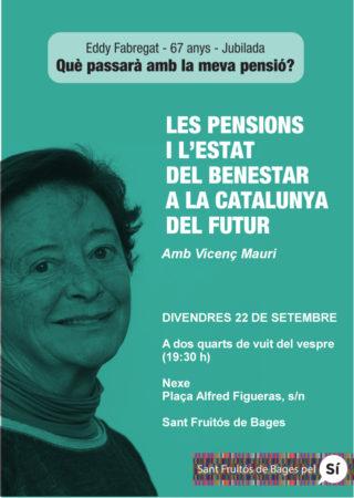 Xerrada Pensions i Estat del Benestar @ Nexe Espai de Cultura