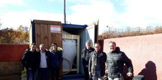 Representants de l'Ajuntament han inaugurat oficialment la nova caldera de biomassa pel camp de futbol FOTO.AJUNTAMENT DE SANT FRUITOS