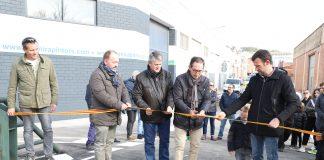 Joan Carles Batanés inaugura el nou pont de Sant Fruitós de Bages FOTO.AJUNTAMENT DE SANT FRUITÓS DE BAGES