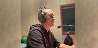 David Òrrit en directe als micròfons de l'Esport i Punt d'Ona Bages i Ràdio Sant Fruitós