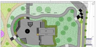 Plànol del nou skatepark que es construirà a Sant Fruitós de Bages / Fotografia: Ajuntament de Sant Fruitós