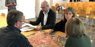 El nou plànol cartogràfic de Sant Fruitós de Bages.