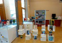 Exposició de la Biblioteca de Sant Fruitós de Bages en el marc de Sant Jordi d'estiu